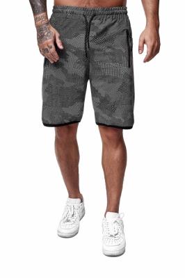 Pantaloni scurti barbati redox 3622c gri inchis