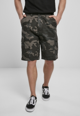 Pantaloni scurti BDU Ripstop inchis-camuflaj Brandit