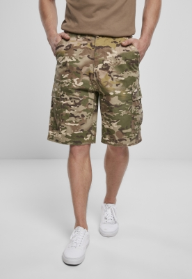 Pantaloni scurti BDU Ripstop tactical-camuflaj Brandit