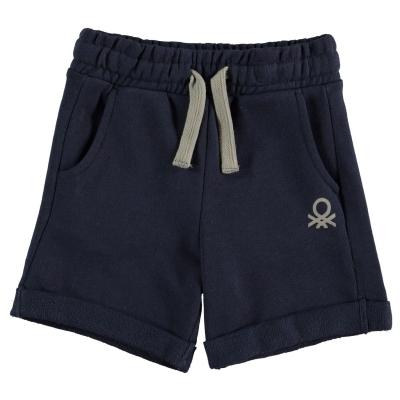 Pantaloni scurti Benetton Jersey pentru baietei bleumarin