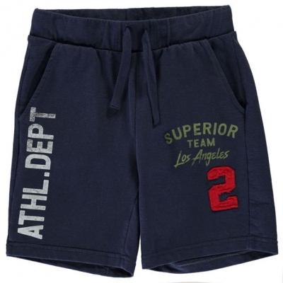 Pantaloni scurti Benetton Jogger pentru baietei bleumarin 13c