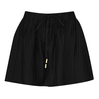 Pantaloni scurti Biba Pleated Beach negru