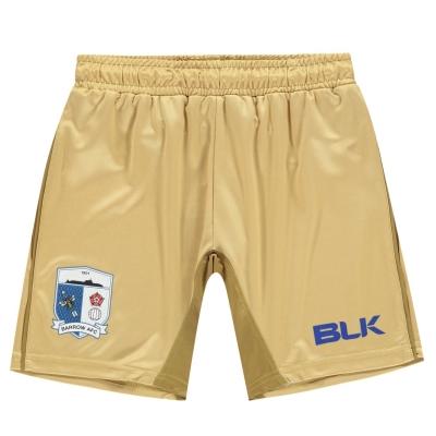 Pantaloni scurti BLK Barrow AFC pentru Copii auriu