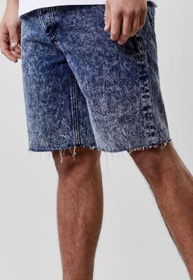 Pantaloni scurti blugi C&S ALLDD Raw Edge albastru Cayler and Sons