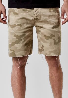 Pantaloni scurti blugi C&S ALLDD Raw Edge bej Cayler and Sons