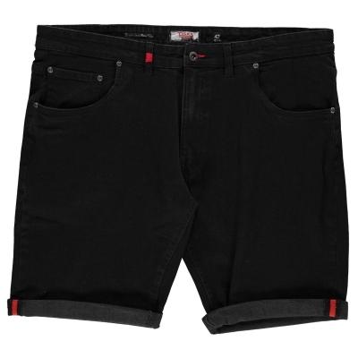 Pantaloni scurti blugi D555 Jude pentru Barbati negru
