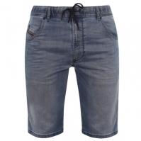 Pantaloni scurti Blugi Diesel Jogg Kroo albastru 069ma