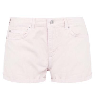 Pantaloni scurti blugi Jack Wills Lizzie roz