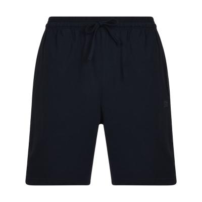 Pantaloni scurti BOSS bumbac bleumarin