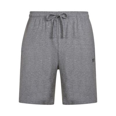 Pantaloni scurti BOSS bumbac gri