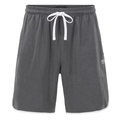 Pantaloni scurti BOSS bumbac verde alb