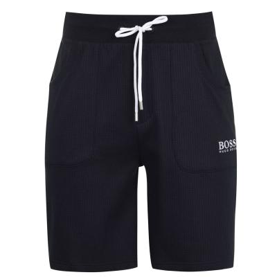 Pantaloni scurti BOSS Hugo Boss Jersey bleumarin