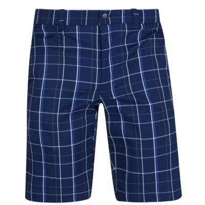 Pantaloni scurti Callaway Plaid pentru Barbati medieval albastru