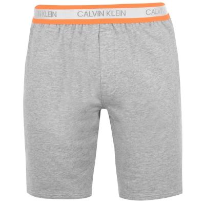 Pantaloni scurti Calvin Klein gri deschis