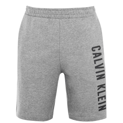 Pantaloni scurti Calvin Klein Performance Calvin SMU Logo gri