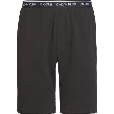Pantaloni scurti Calvin Klein Sleep negru