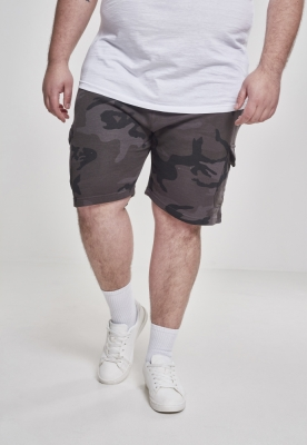 Pantaloni scurti Camo Cargo Terry inchis-camuflaj Urban Classics