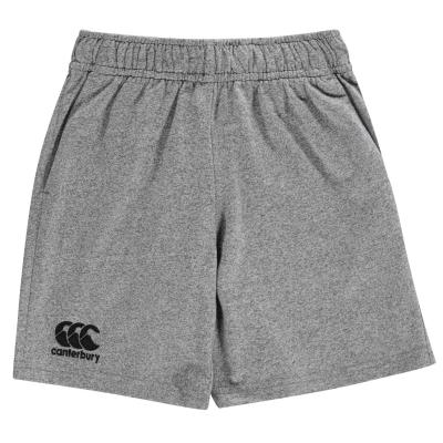 Pantaloni scurti Canterbury bumbac pentru baietei gri