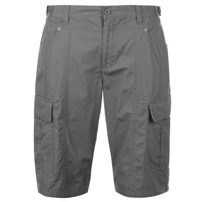 Pantaloni scurti cargo Firetrap pentru Barbati gri inchis