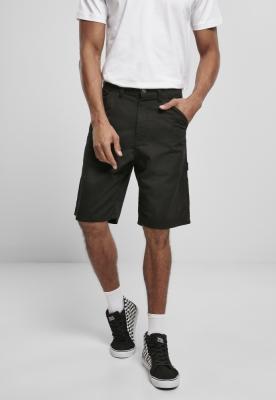 Pantaloni scurti Carpenter negru Urban Classics