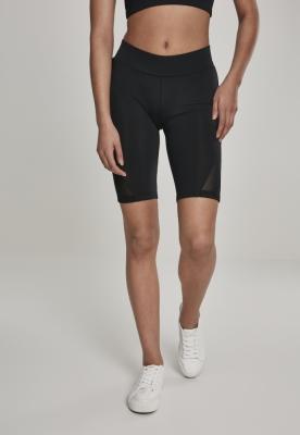 Pantaloni scurti ciclism cu plasa pentru Femei negru Urban Classics