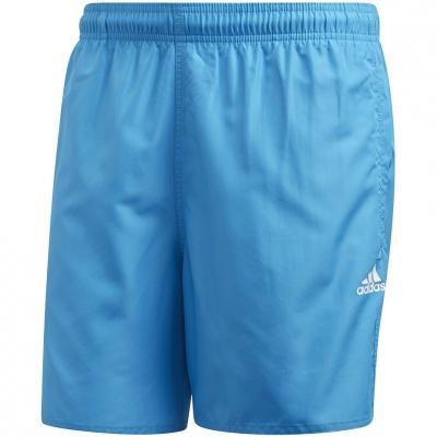 Pantaloni scurti de baie Adidas Solid CLX SH SL barbati FJ3381 albastru