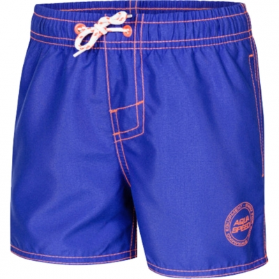 Pantaloni scurti de baie Aqua-Speed Liam albastru Col. 02 pentru baieti