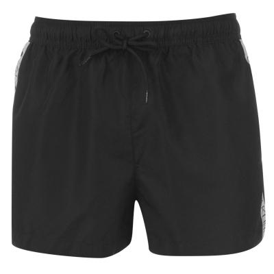 Pantaloni scurti de baie Calvin Klein Tape Logo negru