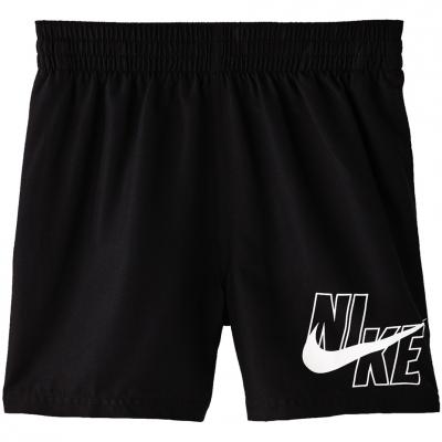 Pantaloni scurti de baie Nike Logo Solid Lap negru NESSA771 001 copii pentru copii