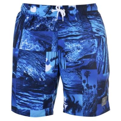 Pantaloni scurti de baie Speedo Print Leisure pentru Barbati bleumarin albastru