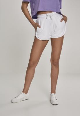 Pantaloni scurti de plaja pentru Femei alb Urban Classics