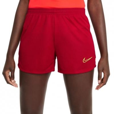 Pantaloni scurti Df Nike Academy Short 21 K rosu CV2649 687 pentru Femei
