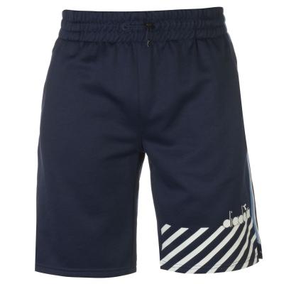 Pantaloni scurti Diadora albastru mov pruna