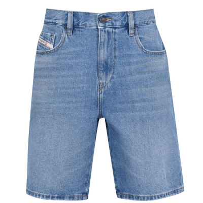 Pantaloni scurti Diesel D-Strukt wshd albastru