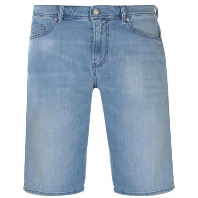 Pantaloni scurti Diesel Diesel Slim Fit deschis albastru