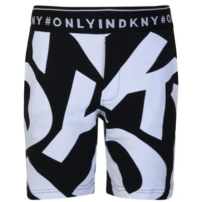Pantaloni scurti DKNY Logo pentru baieti negru 09b