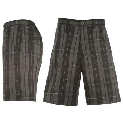 Pantaloni scurti Dunlop Fashion Golf pentru Barbati negru alb