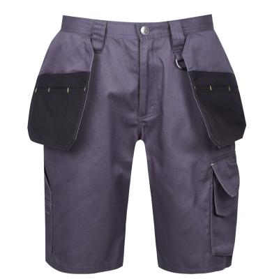 Pantaloni scurti Dunlop On Site pentru Barbati gri carbune negru