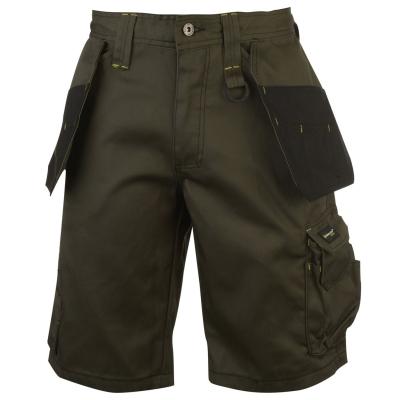 Pantaloni scurti Dunlop On Site pentru Barbati kaki negru