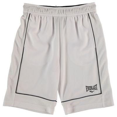 Pantaloni scurti Everlast Basketball pentru baietei alb negru