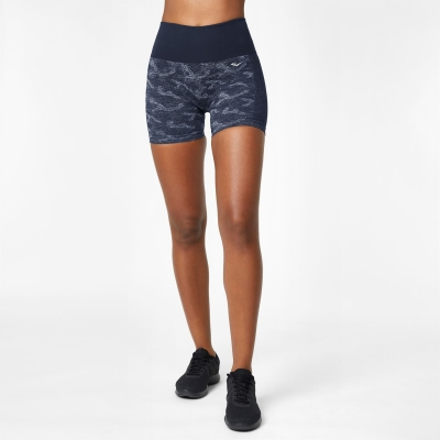 Pantaloni scurti Everlast Seamless Camo 5 Inch bleumarin