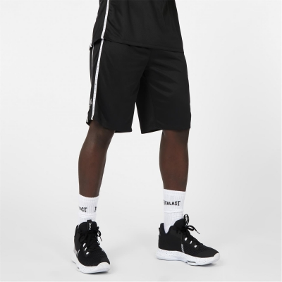 Pantaloni scurti Everlast x Ovie Soko Premium baschet negru