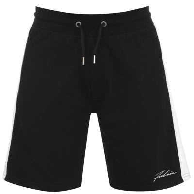 Pantaloni scurti Fabric Panel pentru Barbati negru