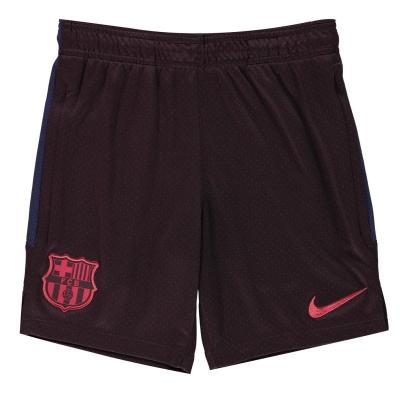 Pantaloni scurti FC Barcelona FC Barcelona Dry Strike Juniors rosu burgundy