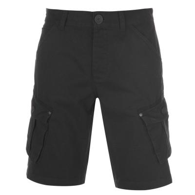 Pantaloni scurti Firetrap BTK pentru Barbati washed negru