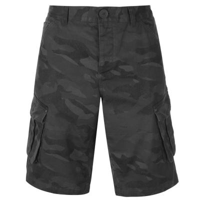 Pantaloni scurti Firetrap BTK pentru Barbati bleumarin camuflaj