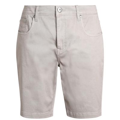 Pantaloni scurti Firetrap Chino pentru Barbati maro deschis