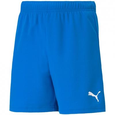 Pantaloni scurti For Puma TeamRISE Short albastru 704943 02 pentru Copii copii
