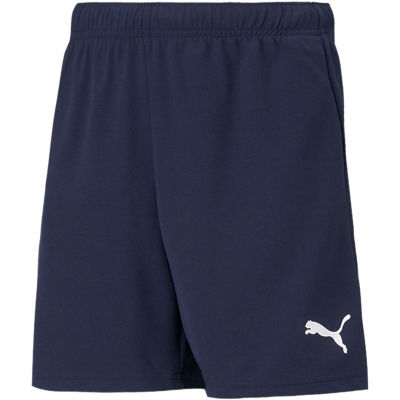 Pantaloni scurti For Puma TeamRISE Short bleumarin 704943 06 pentru Copii copii