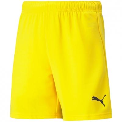 Pantaloni scurti For Puma TeamRISE Short galben 704943 07 pentru Copii copii